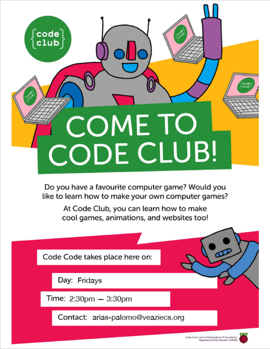 Friday Code Club