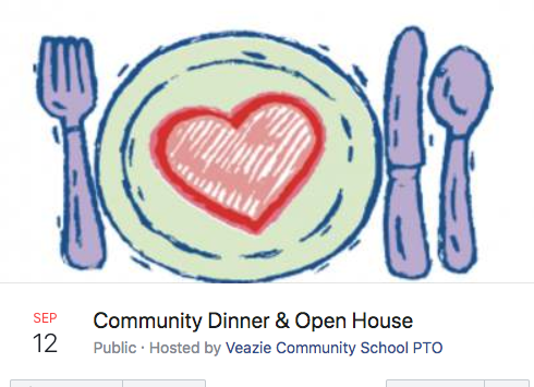 Community Dinner & Open House!