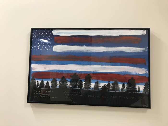 Bekah's Veteran's Day Celebration Painting